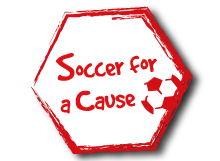 Soccer for a Cause - We are donating all of the proceeds from court bookings on 2 March 2014. Come support our cause!