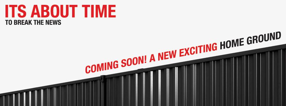 Coming soon! Golazo's new homeground!