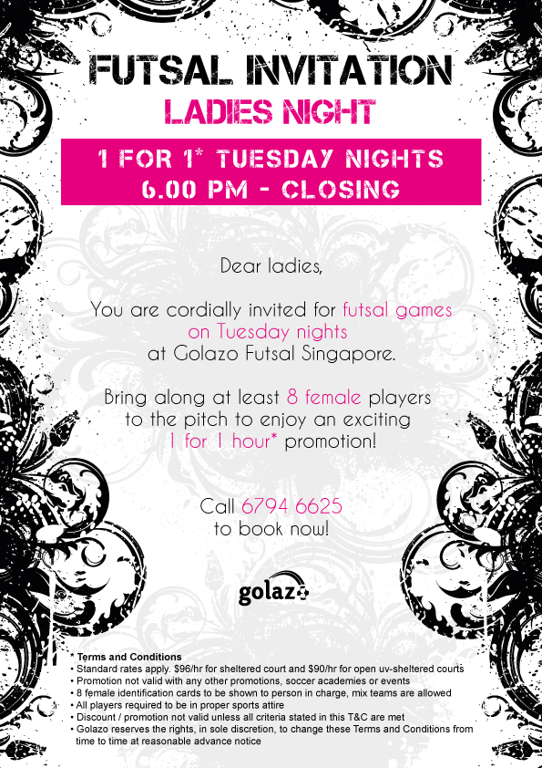 Golazo Ladies Night